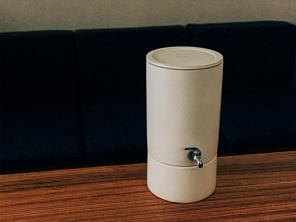 信楽焼浄水器「クリンスイ JP100-C」